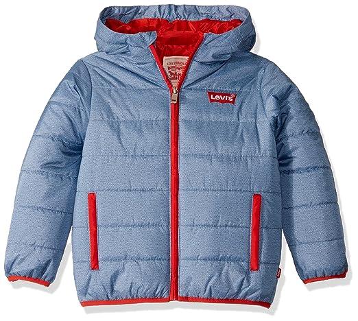 Levi's Big Boys' Puffer Jacket, Navy, XL