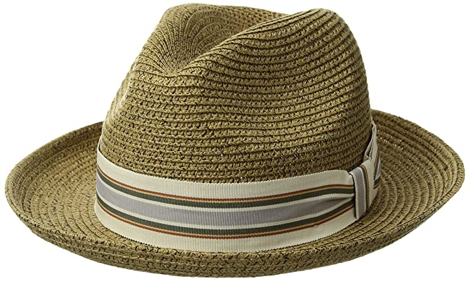 c289b9f65ceb9 Bailey of Hollywood Men s Salem Fedora Trilby Hat at Amazon Men s Clothing  store
