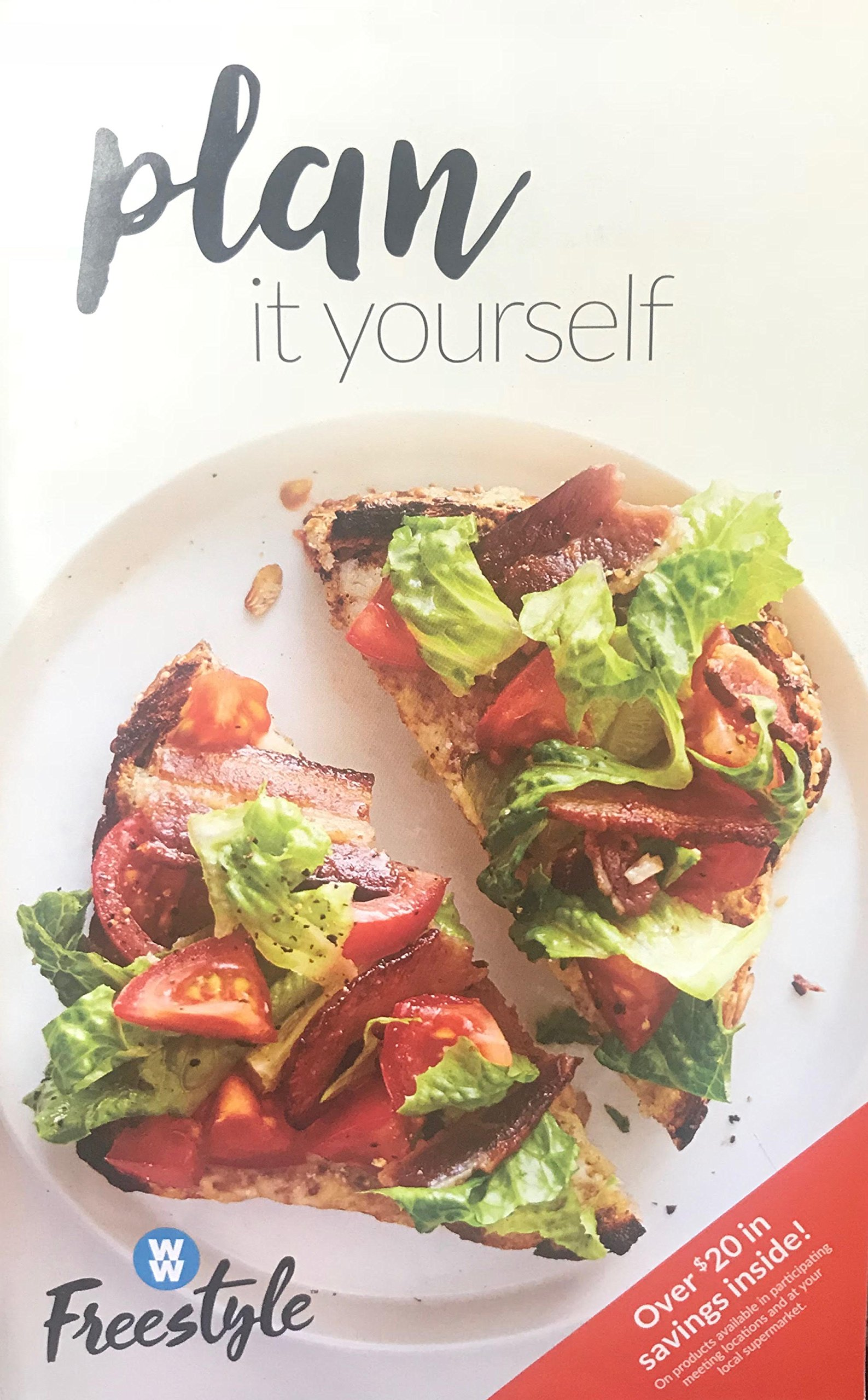 Weight Watchers 2018 Smart Points FREESTYLE - Plan It Yourself Guide Book