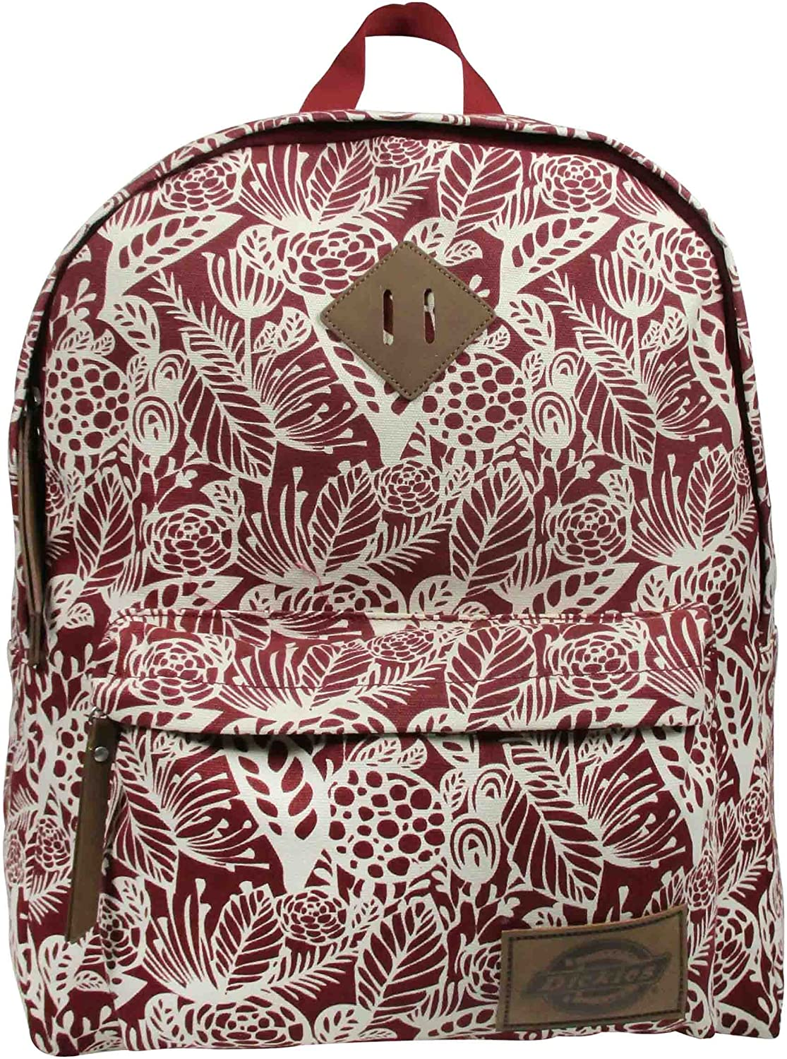 Dickies The Classic Backpack, Scarlet Red Big Flora 91VC4ShqdtL