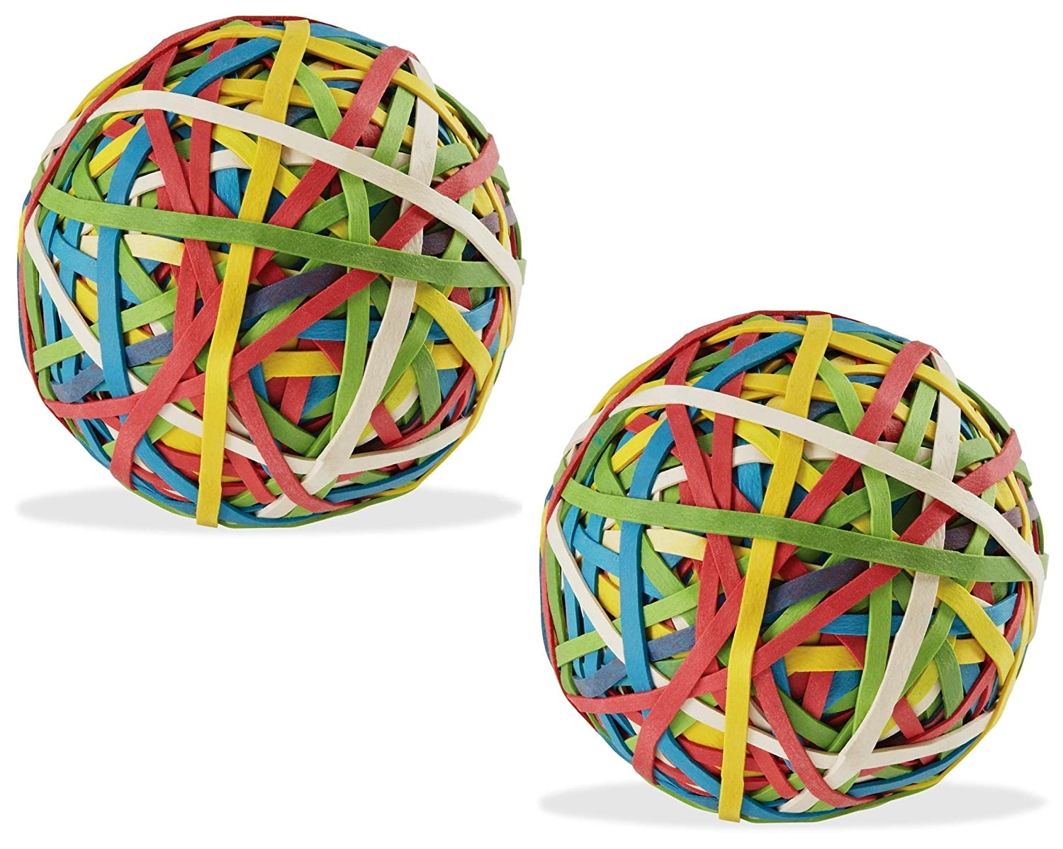 Color Rubber Band Ball (135 gm x 2) - Pack of 2 Yosogo H135gm/R8-2