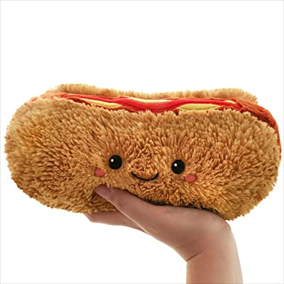 "Squishable / Mini Hot Dog Comfort Food Plush – 7"": Toys & Games"