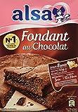 Alsa Préparation pour Gâteau Fondant Chocolat 320g - Lot de 3