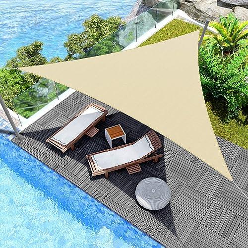 Windscreen4less 28' x 28' x 28' Sun Shade Sail Canopy