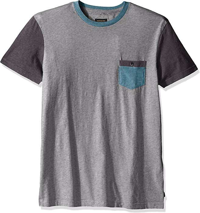 35e1b75fecb Amazon.com  Quiksilver Men s Baysic Pocket T-Shirt
