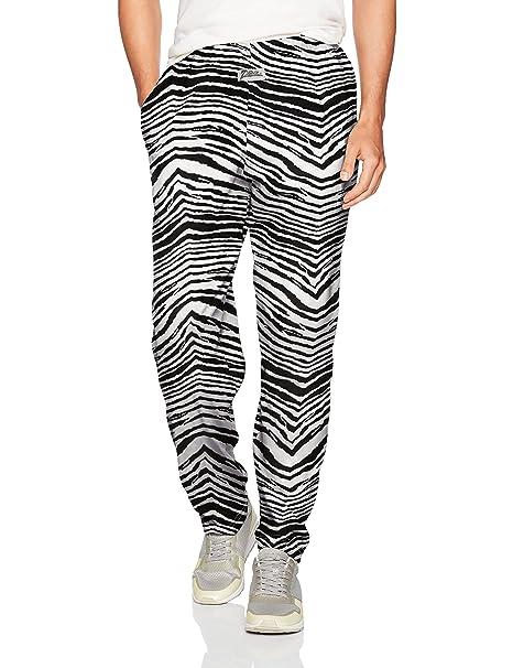 8e626cf9d2 Zubaz Men s Classic Zebra Printed Athletic Lounge Pants