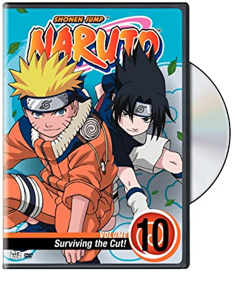 amazon co jp naruto 10 surviving the cut dvd import dvd