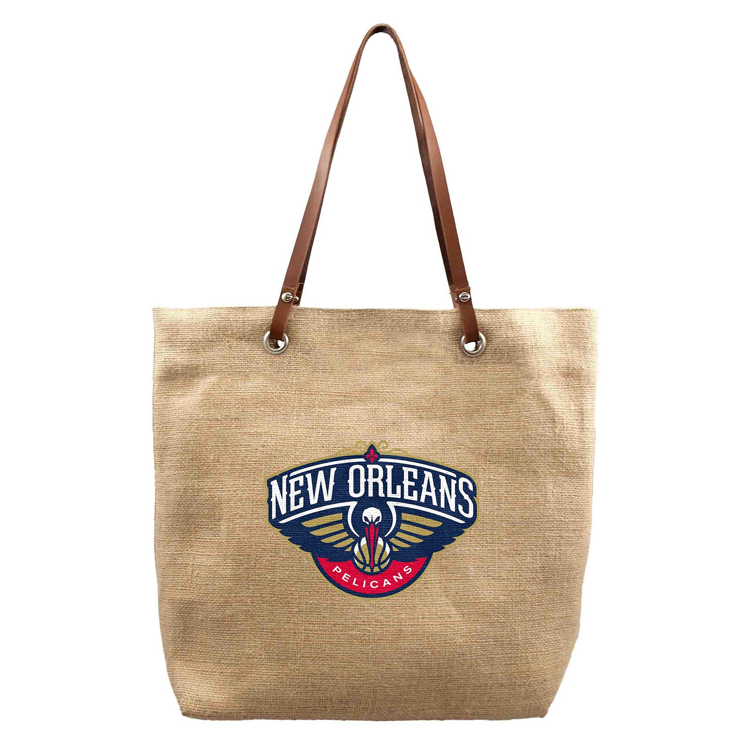 Littlearth NBA New Orleans Pelicans Burlap Market Tote