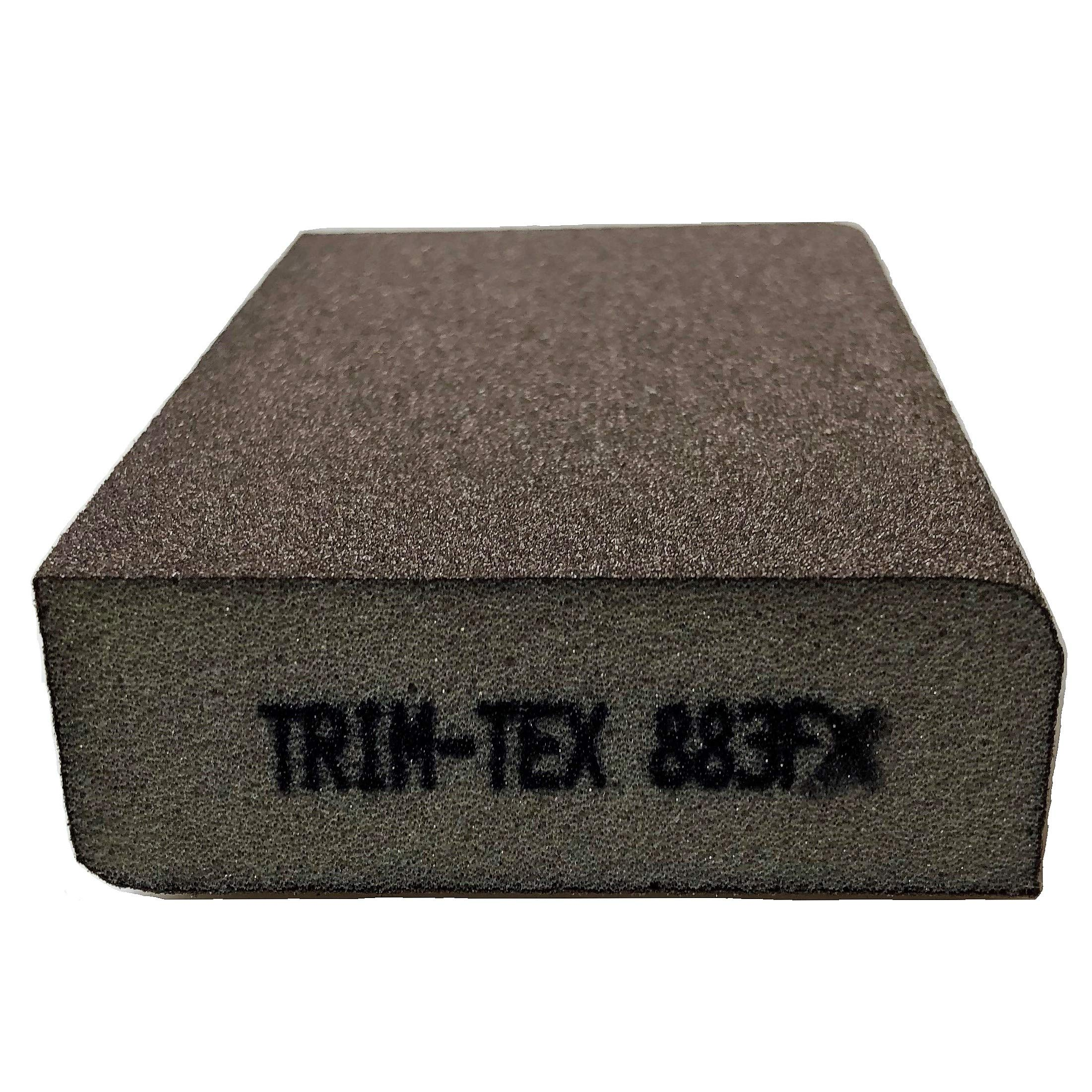 Standard Sanding Block Extra Fine Grit (Box of 24) by Trim-Tex