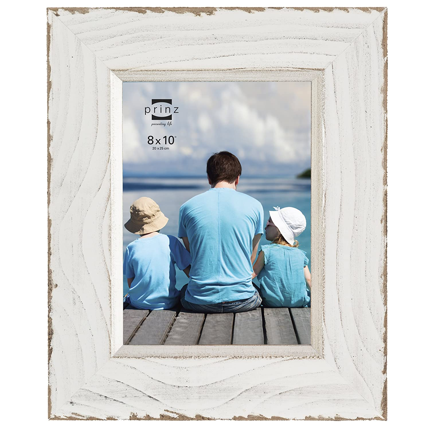 Distressed Wood Picture Frames. Amazon.com: Prinz Clearwater ...