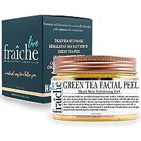 Live Fraiche 24k Gold Brightening Facial Peeling Gel Green Tea - 4.23oz -Secret...