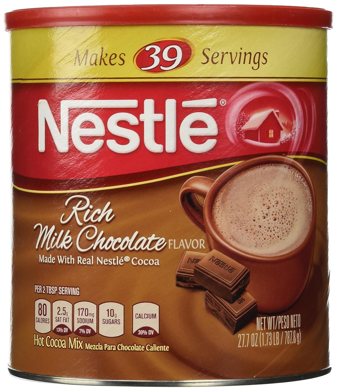 Amazon.com : Nestle Hot Cocoa Mix Makes 39 Servings 27.7 OZ ...