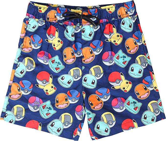 Pok/émon Boys Pokeball Swim Shorts