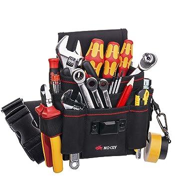 Amazon.com: Bolsa para herramientas NoCry, hecha de lona ...