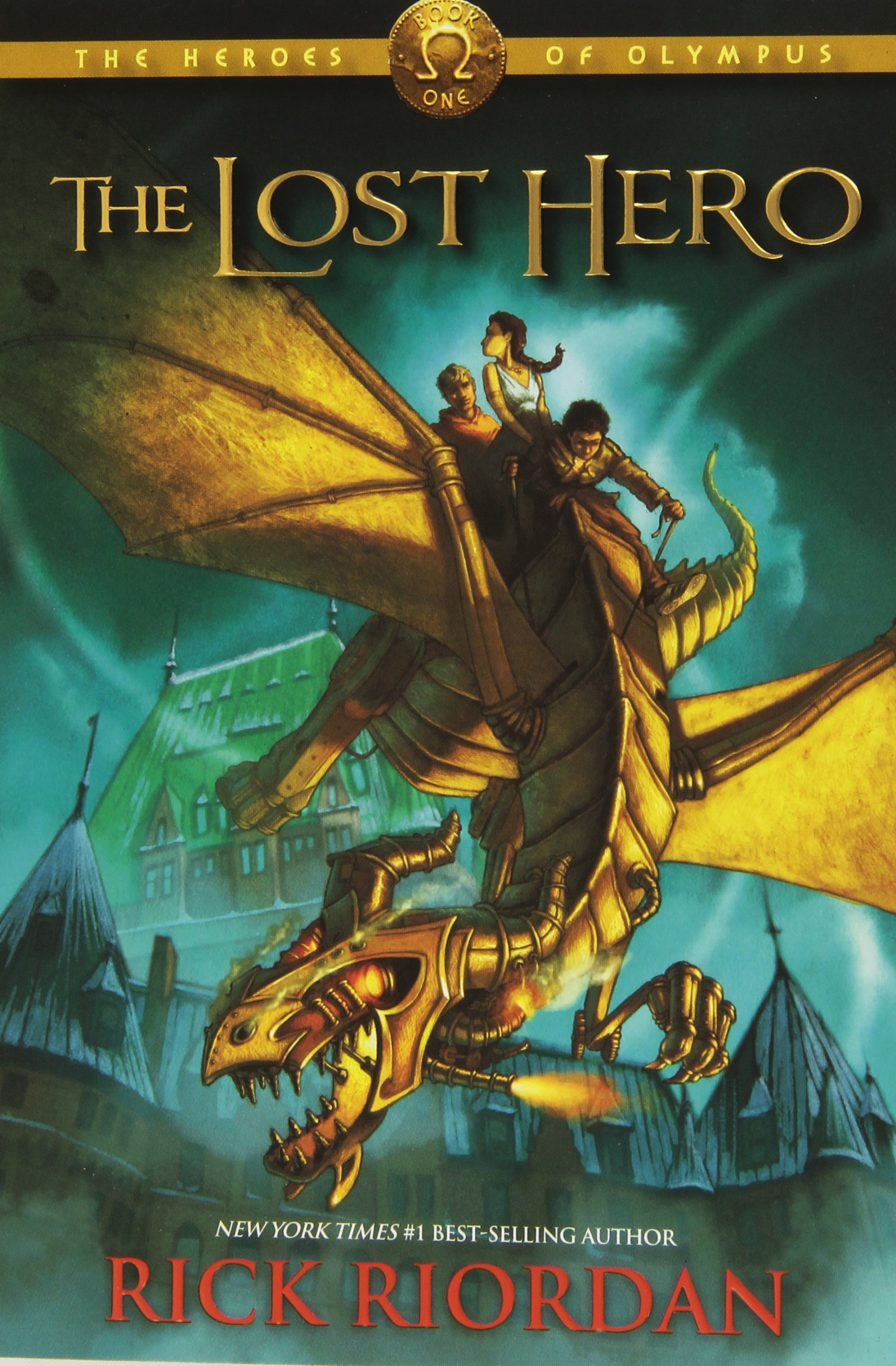 heroes of olympus the lost hero book review