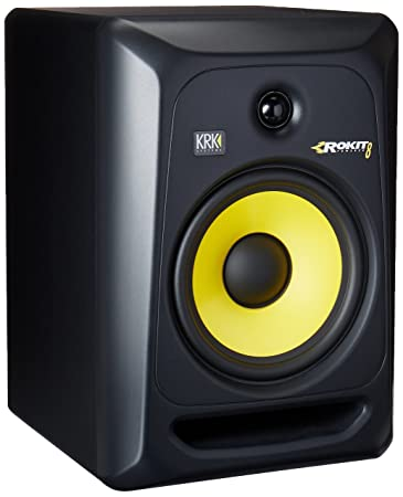 KRK RP8G3-NA Rokit 8 Generation 3 Powered Studio Monitor Studio Monitor Stands at amazon