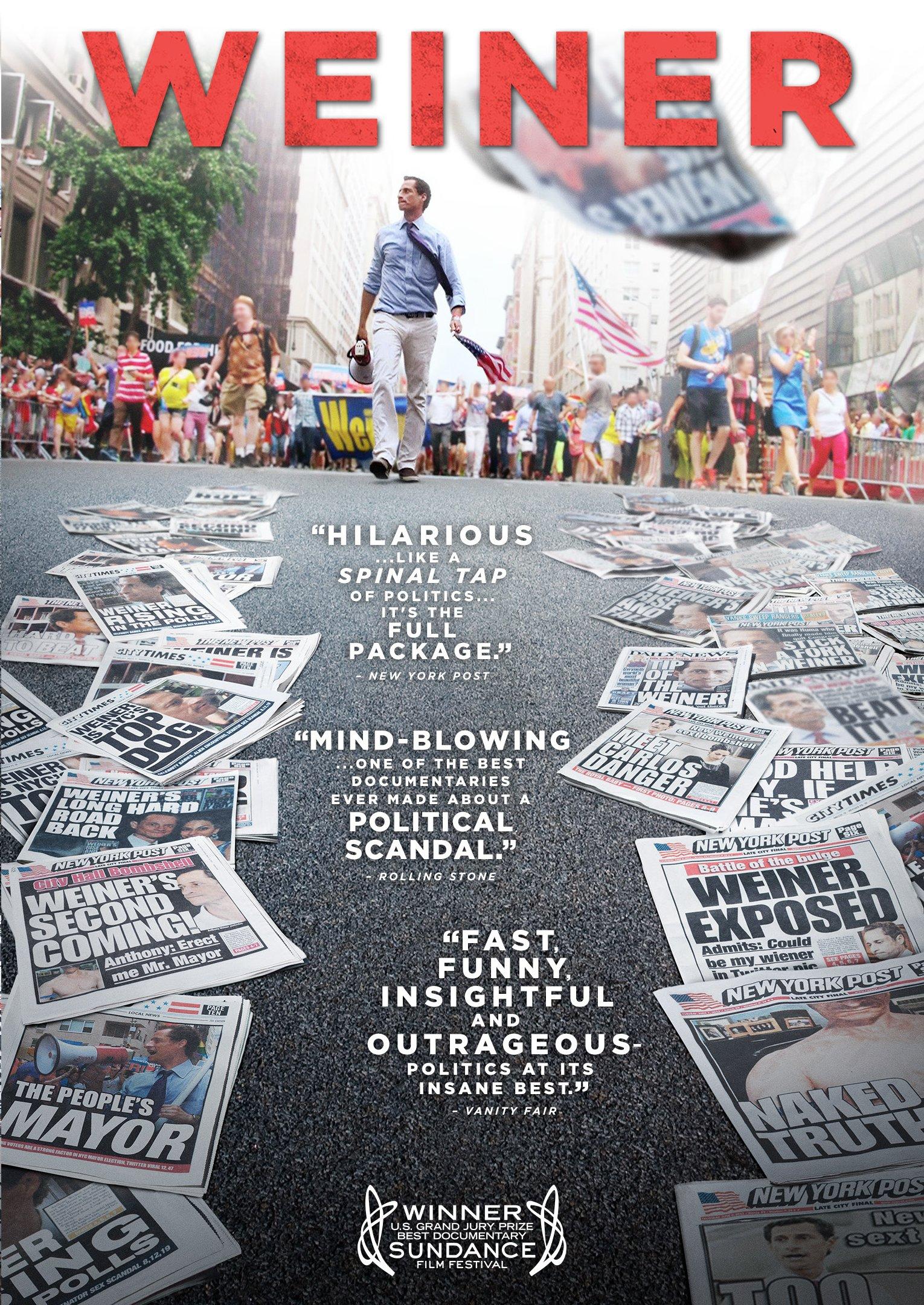 DVD : Weiner (Anamorphic)