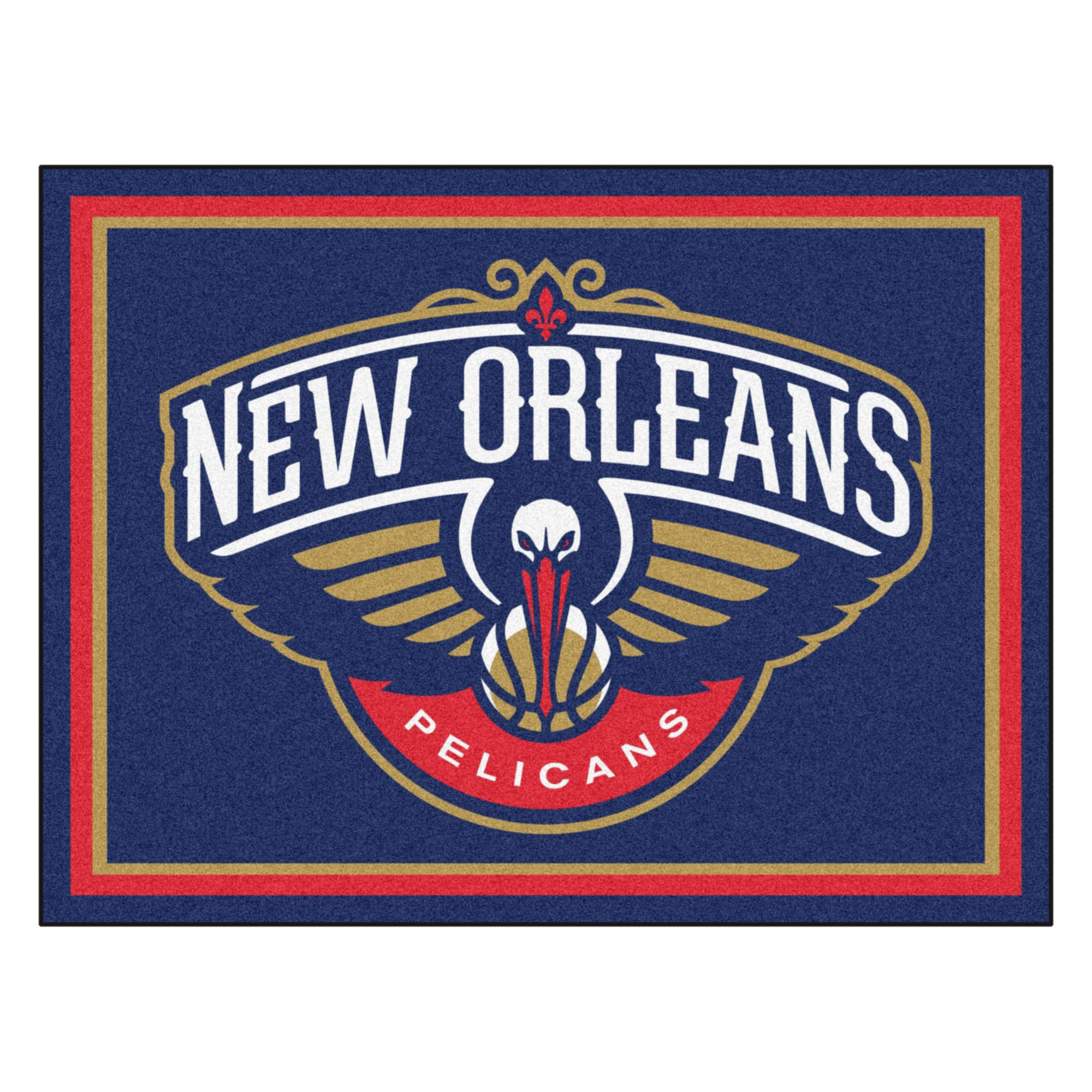 FANMATS 17460 NBA New Orleans Pelicans Rug