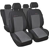 Sitzbezüge Schonbezüge SET QF Ford Transit Kunstleder schwarz