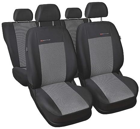 Graue Sitzbezüge für AUDI A6 Autositzbezug VORNE