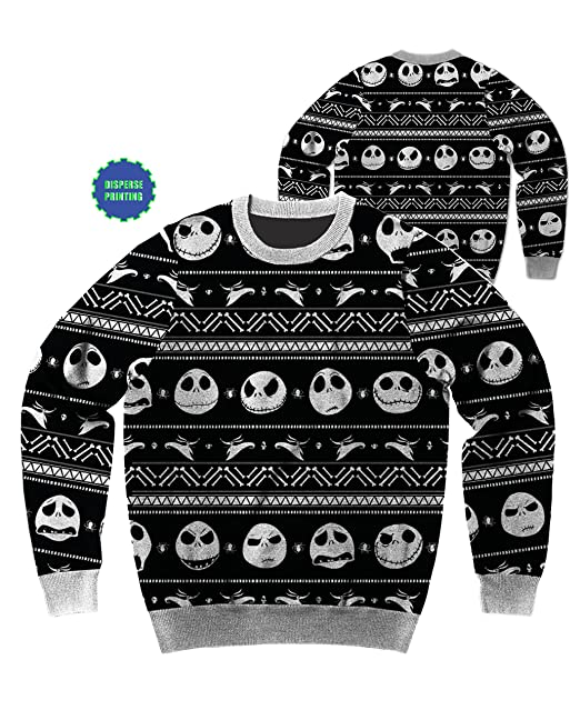 Jungen Disney Nightmare Before Christmas Pullover