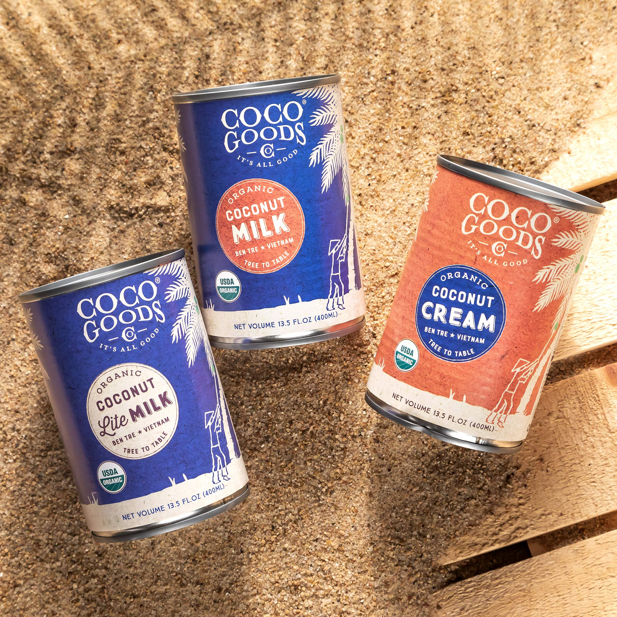 CocoGoods Co. Vietnam Single-Origin Organic Coconut Cream 13.5 oz - Gluten-free, Non-GMO, Vegan, & Dairy-free (Pack of 12) by COCOGOODSCO (Image #5)
