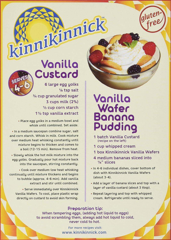 Kinnikinnick - oblea de vainilla (3 unidades): Amazon.com ...