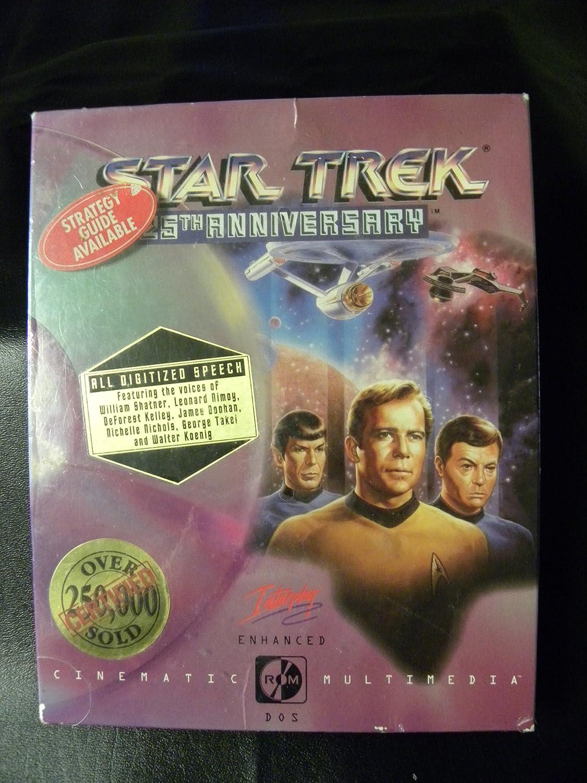 star trek 25th anniversary online