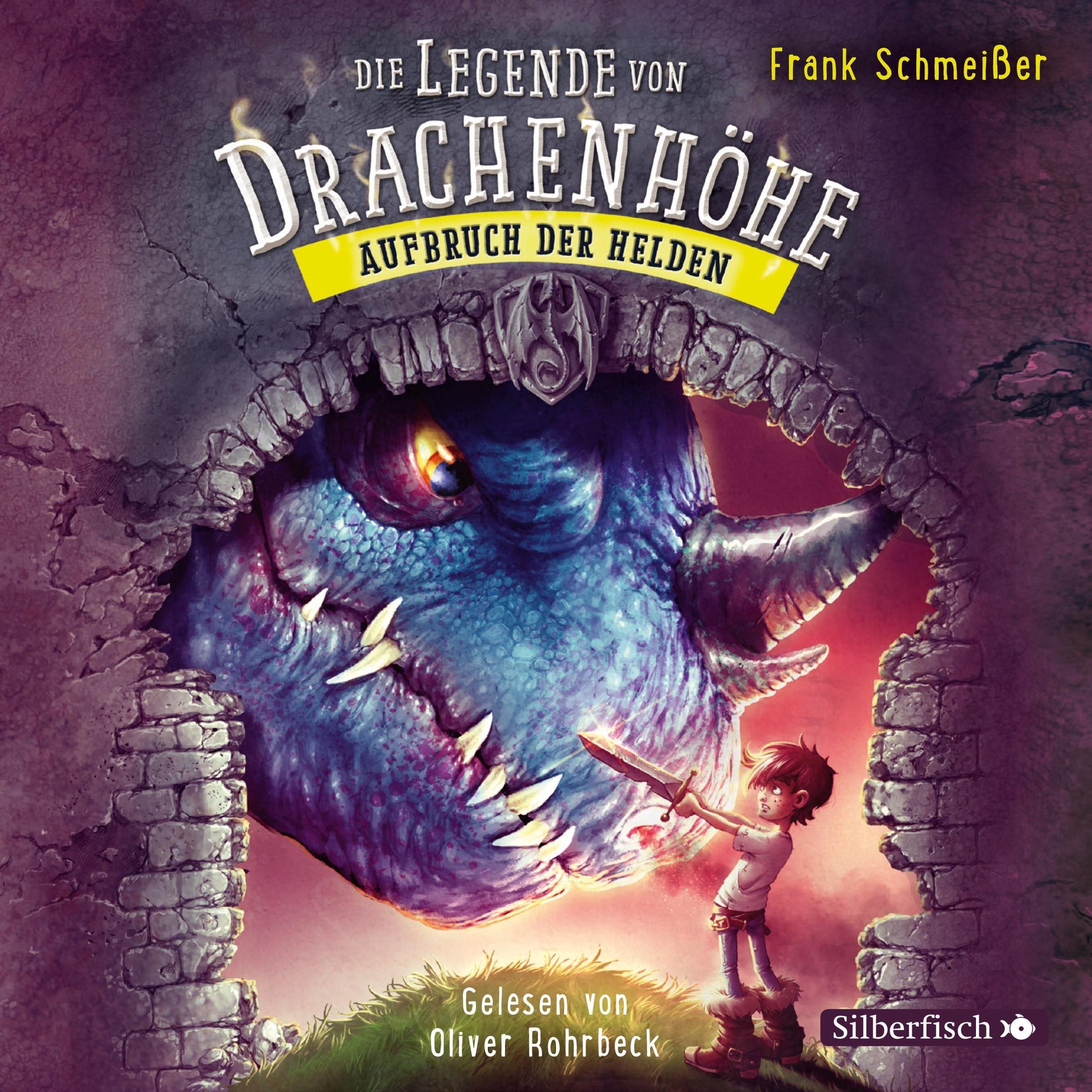 Aufbruch der Helden: 3 CDs (Die Legende von Drachenhöhe, Band 2)