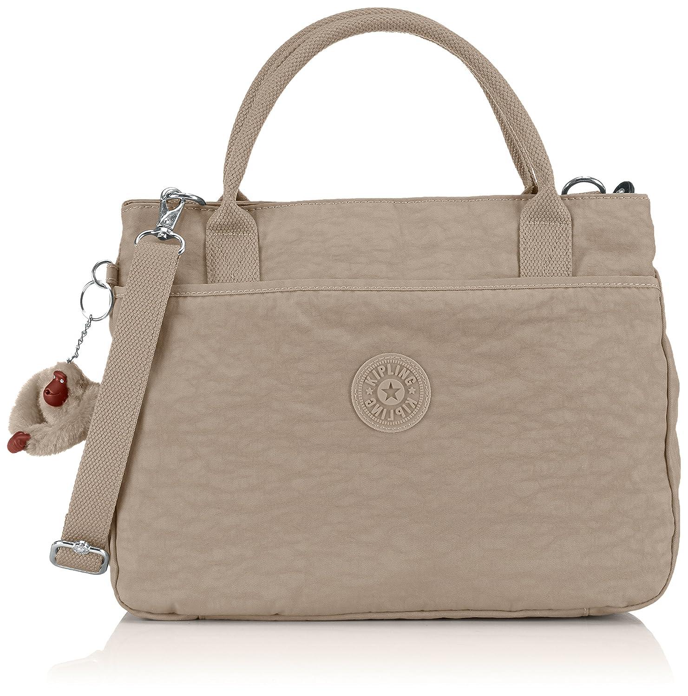 KiplingCaralisa - Bolsa de Hombro mujer, color gris, talla Talla única: Amazon.es: Zapatos y complementos