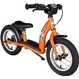 BIKESTAR® Premium 30.5cm (12 pulgadas) Bicicleta sin pedales para los exploradores mas valientes a partir de 3 años ★ Edición Clásica ★ Naranja