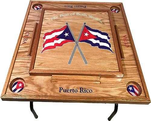 Puerto Rico Cuba Domino Table