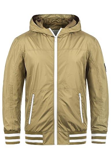 Blend Novan Herren Übergangsjacke Herrenjacke Jacke mit Kapuze