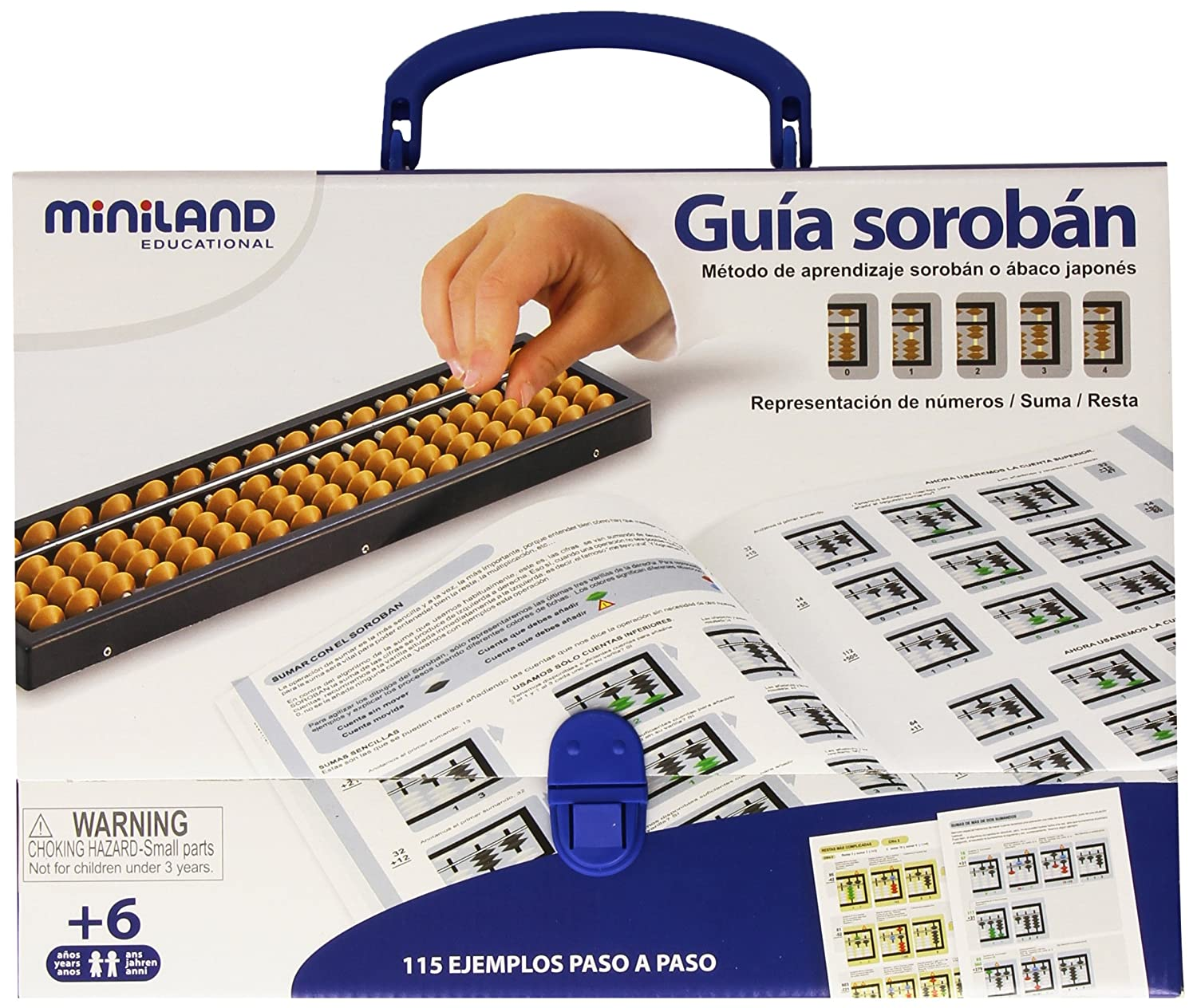 Miniland - Set Japanese Soroban and Abacus Guide (95084)
