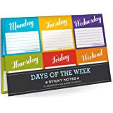 Knock Knock Sticky Notes Packet, Days of The Week