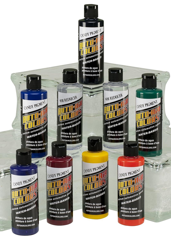 Auto Air Colors Candy Pigment Colors Set C, 4oz. by Auto Air Colors
