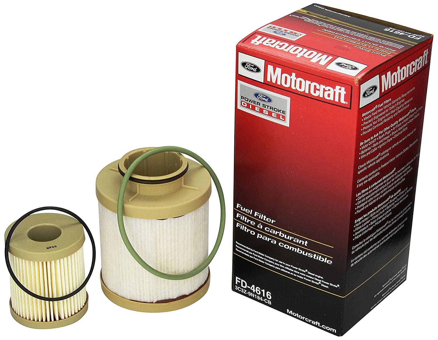 Fuel Filters Replacement Parts Automotive 2001 Ford Mustang Filter Diagram Motorcraft Fd 4616