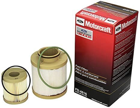 amazon com motorcraft fd 4616 fuel filter automotive Ford 6.0 Fuel Filter Housing Gasket image unavailable