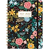 """2021-2022 Planner - Weekly & Monthly Planner with Monthly Tabs, July 2021 - June 2022, 6.3"""" x 8.4"""", Flexible Hardcover with T"""