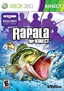 Amazon Com Rapala For Kinect Xbox 360 Activision Inc Video Games