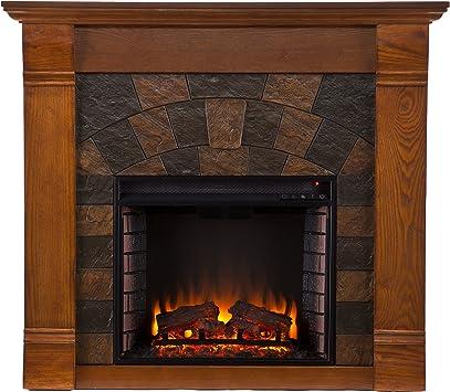Amazon Com Southern Enterprises Elkmont Electric Fireplace Salem