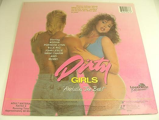 Amazon Com Anthony Spinelli Presents Dirty Girls Adult Xxx Laserdisc Keisha Porsche Lynn Elle Rio John Leslie Nikki Charm Movies Tv