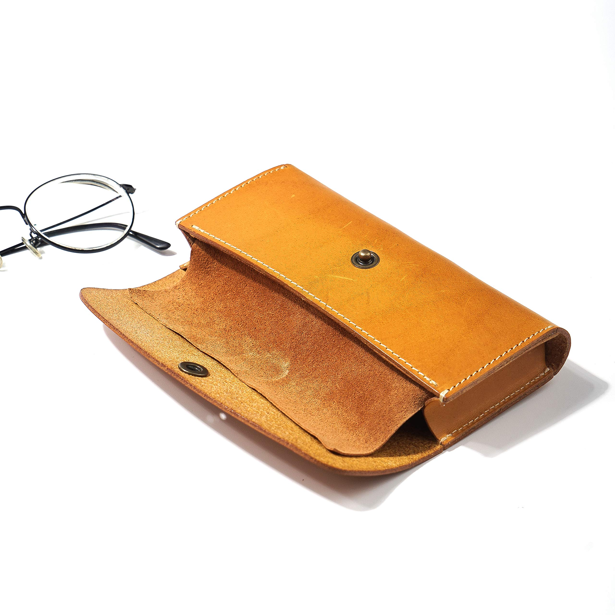 hevitz 3839 Leather Glasses Case Yellow by hevitz