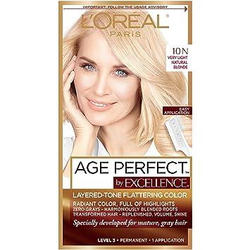 Amazon.com : L\'Oreal Paris ExcellenceAge Perfect Layered Tone ...