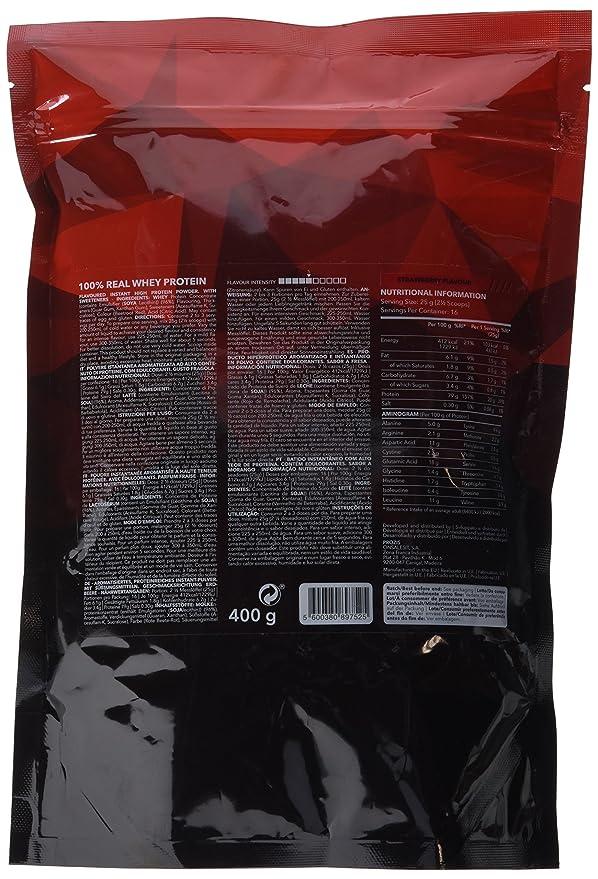 Prozis 100% Real Whey Protein 400 g: Suplemento puro en polvo. Disfruta del batido con sabor a Fresa más delicioso del mercado. Con un perfil completo de ...