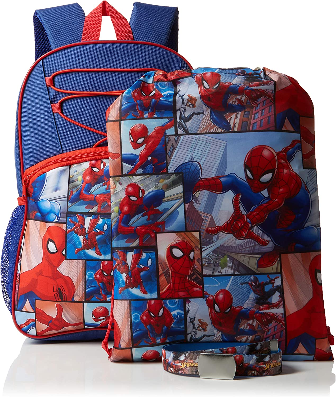 3-TLG. FABTASTICS Spiderman Acc Set Taille unique Lot de 3 Ceinture Multicolore Mehrfarbig