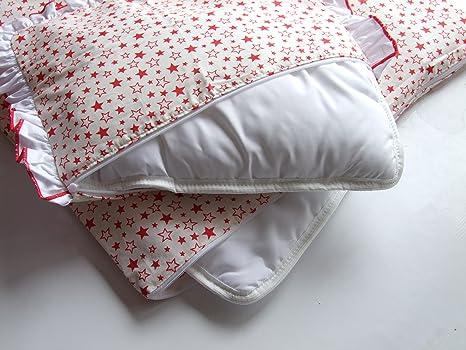 4 tlg Bettwäsche Bettset Bettbezug Kissenbezug Kissen Bettdecke für Wiege