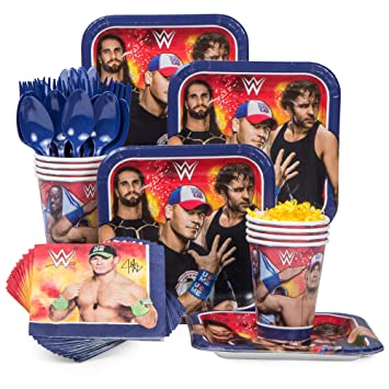 WWE Party Supplies Standard Kit Serves 8