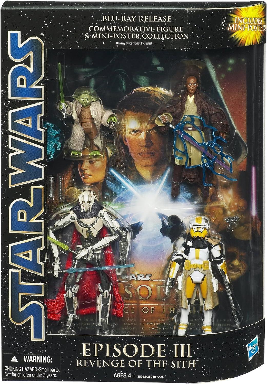 Star Wars Saga Episodio III - Pack conmemorativo de BLU-Ray: Amazon.es: Juguetes y juegos