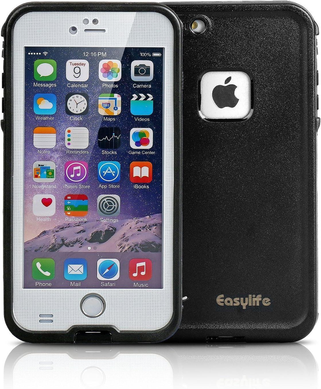 Funda Impermeable Para Móvil iPhone 6plus(5.5 inch),Easylife Carcasa Anti-agua con IPX8 a Prueba de Agua,Golpes,Polvo,Funda Protectora de Cubierta,Waterproof Case for Apple iPhone 6plus(blanco): Amazon.es: Electrónica
